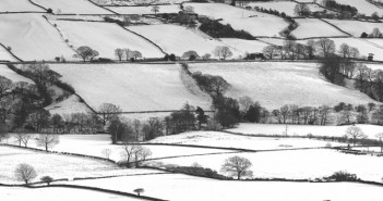 Snow countrywide scene