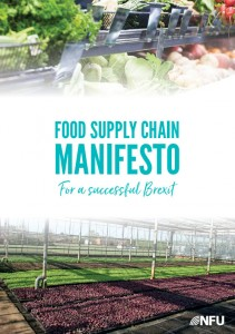Cover of UK Food Supply Chain Manifesto