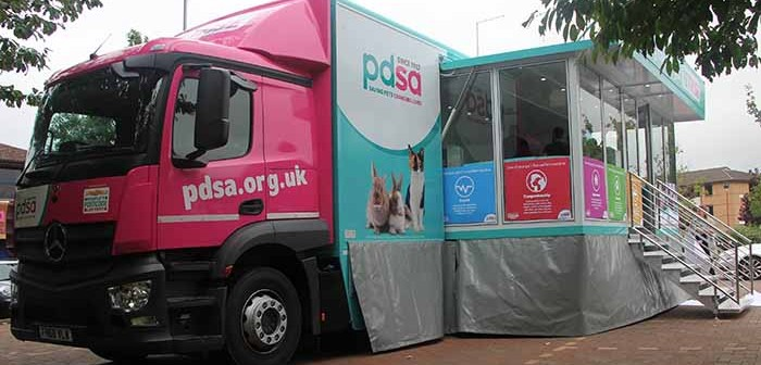 PDSA - Petwise mobile unit