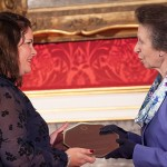 Maria Wolens and HRH Princess Anne