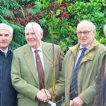 Wynnstay tree planting pic