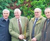 Commemorative tree planted to mark Wynnstay's centenary year