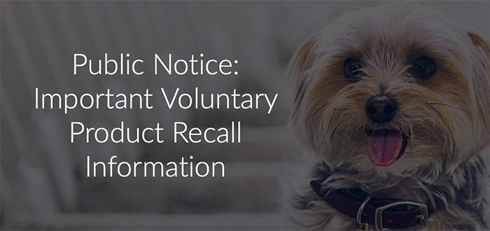 Hill's recall notice