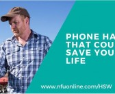 NFU highlights phone hacks that could save lives