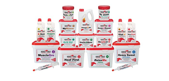 Horse First - group product shot