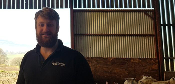 Iolo White, veterinary partner at Camlas Farm Vets LLP
