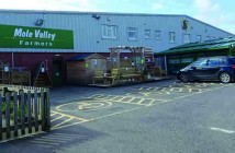 The flagship branch of Mole Valley Farmers, at South Molton in Devon