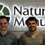 Tom Wood (left) and Jack Abbott (right) have joined Natures Menu