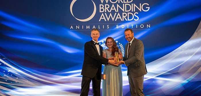 The award was received by Damien Martin, global head of BI's pet healthcare business; Laura Correro, head of marketing, pets healthcare EMEA; and Thomas Went, head of global marketing activation, pet healthcare