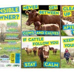 NFU Dog walking poster