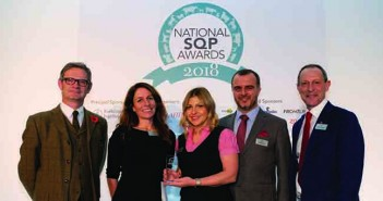 Elanco was named Trade Supplier of the Year at the National SQP Awards 2018