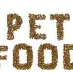 PFMA - Pet food spelt out in pet food