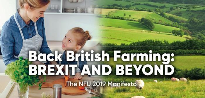 NFU election manifesto cover