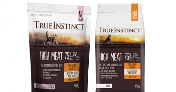 True Instinct launches 'High Meat' cat and kitten range