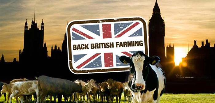 NFU - Back British Farming - Parliament graphic