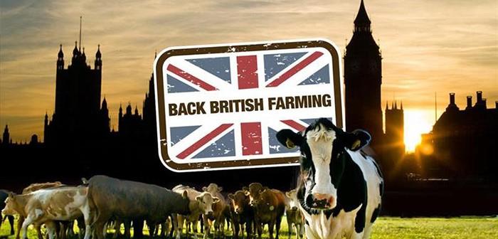NFU - Back British Farming - Parliament graphic