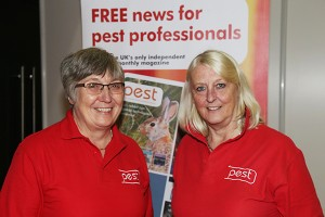 Pest founders Helen Riby, left, and Frances McKim