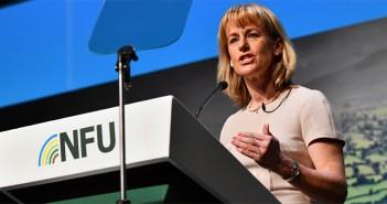 NFU president Minette Batters