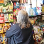 Chepstow Pet Supplies - customer shopping 3