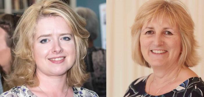 Catherine McLaughlin and Dawn Howard