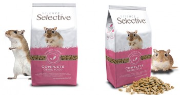 Supreme adds new premium gerbil food within Science Selective
