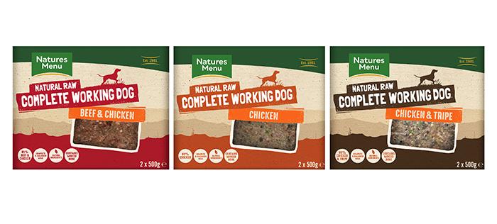 Natures Menu – Complete Working Dog