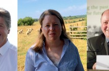 The RHWG leadership team: Gwyn Jones, Caroline Slay and Nigel Miller
