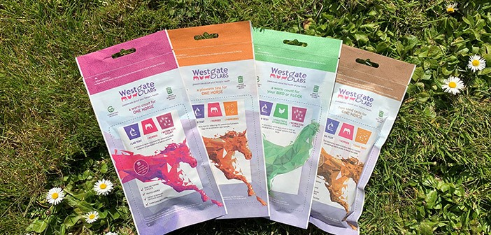 Westgate Labs – pouch-selection-on-grass