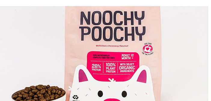 New vegetarian dog food brand Noochy Poochy launches with 'highest protein' claim