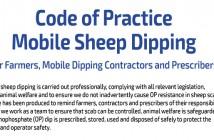 SCOPS Sheep Dip Code of Practice