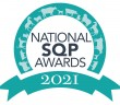 National SQP Awards 2021 logo